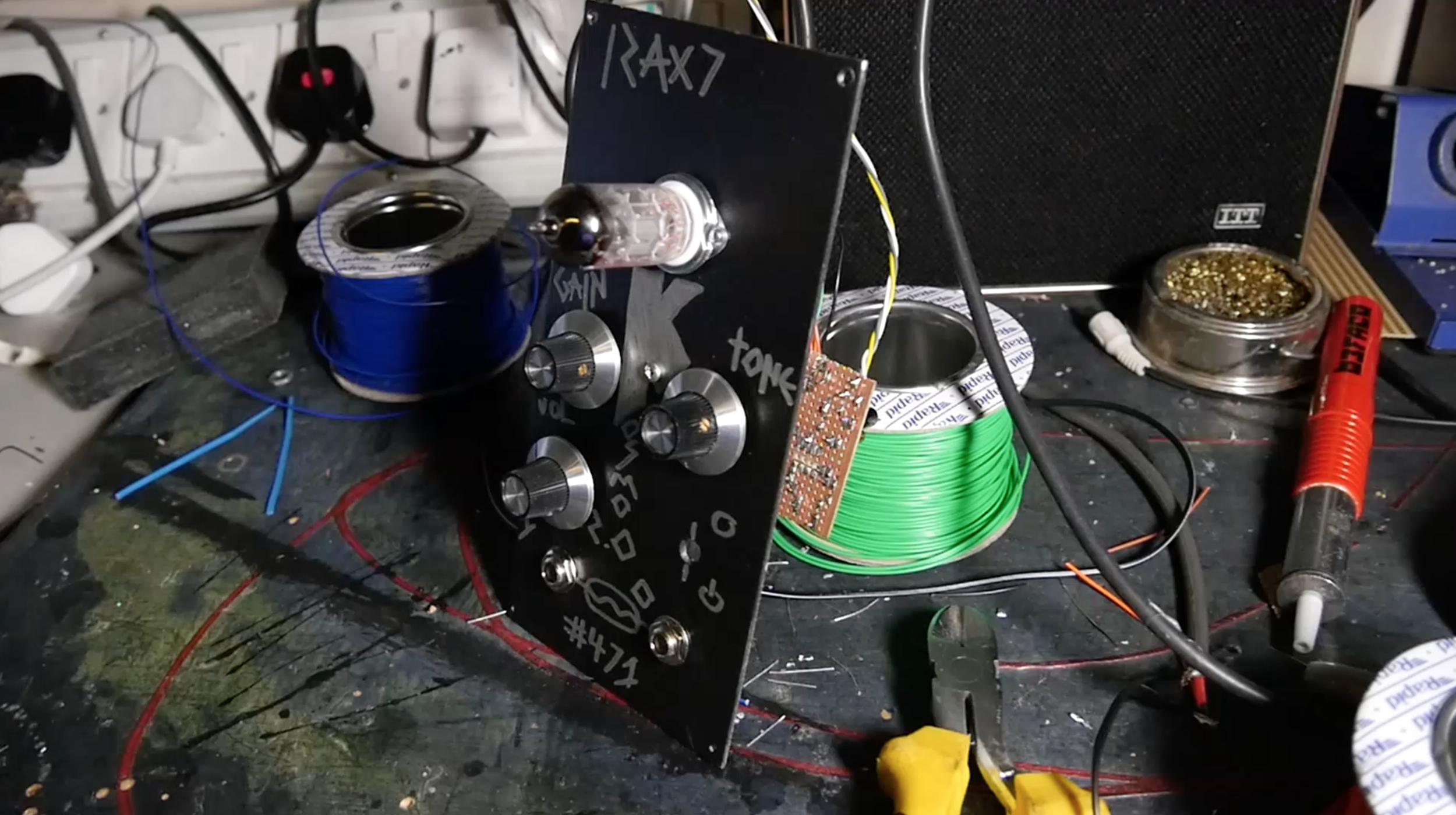 Valvecaster For Modular Synths
