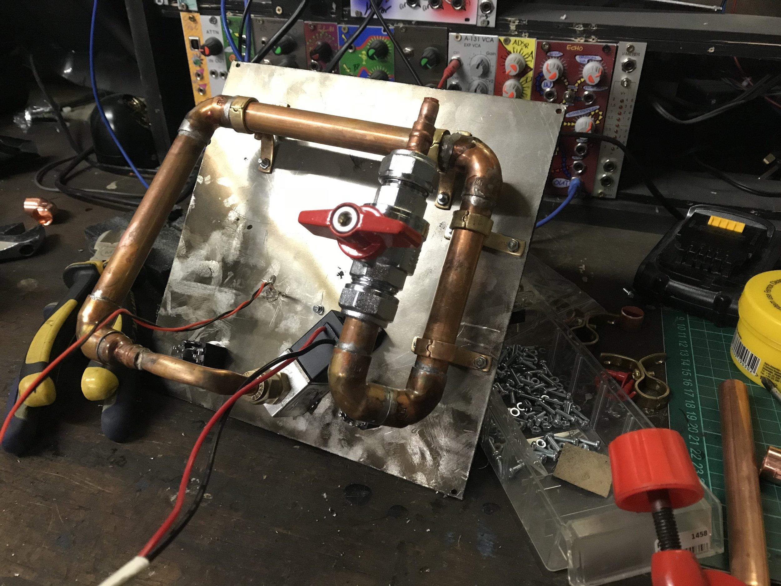 Flamethrower module back