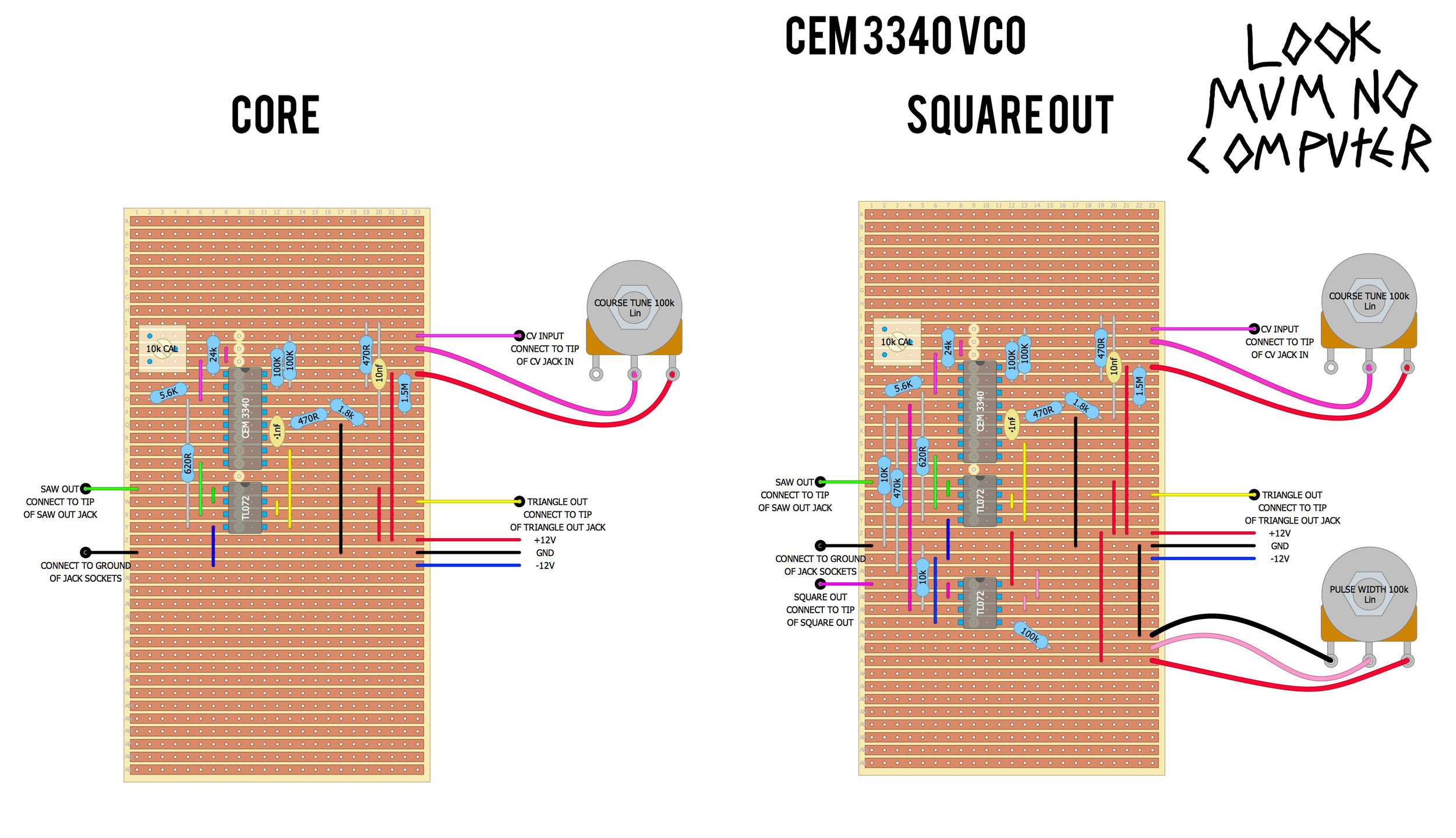 CEM 3340 square out