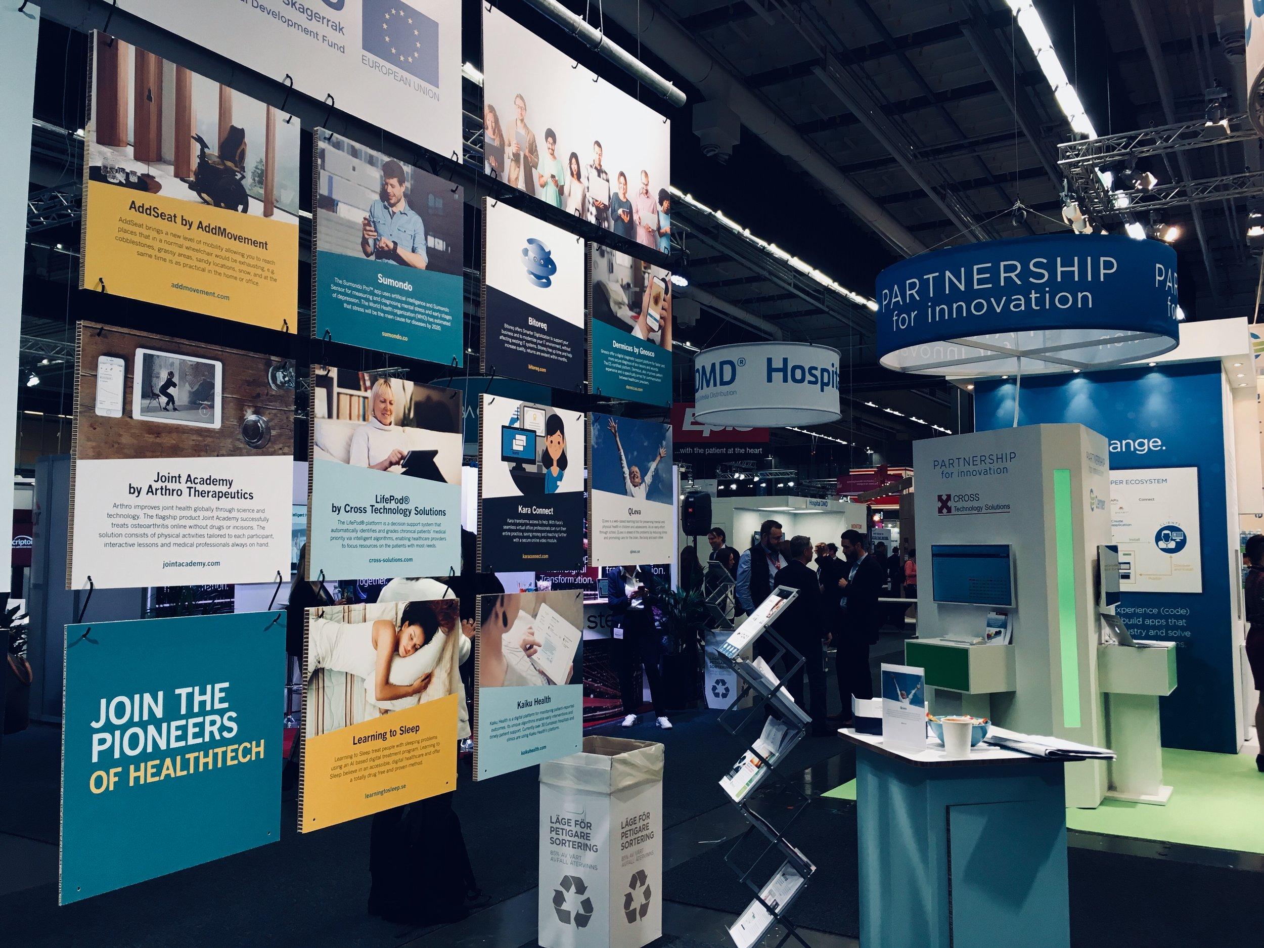 """Stolta över att vara en del av HealthTech Nordic - """"Community of pioneers within the field of HealthTech"""""""