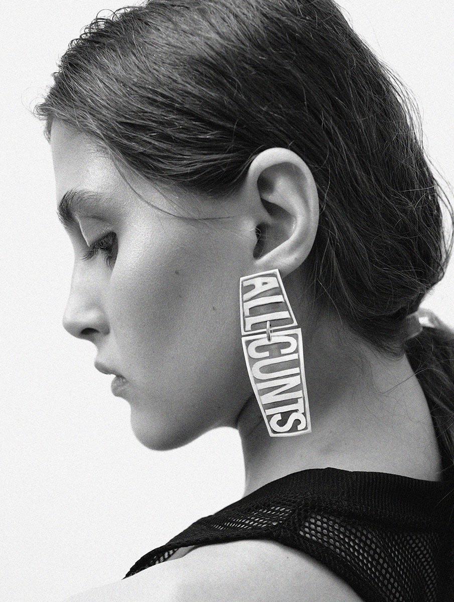 Malevich Earring