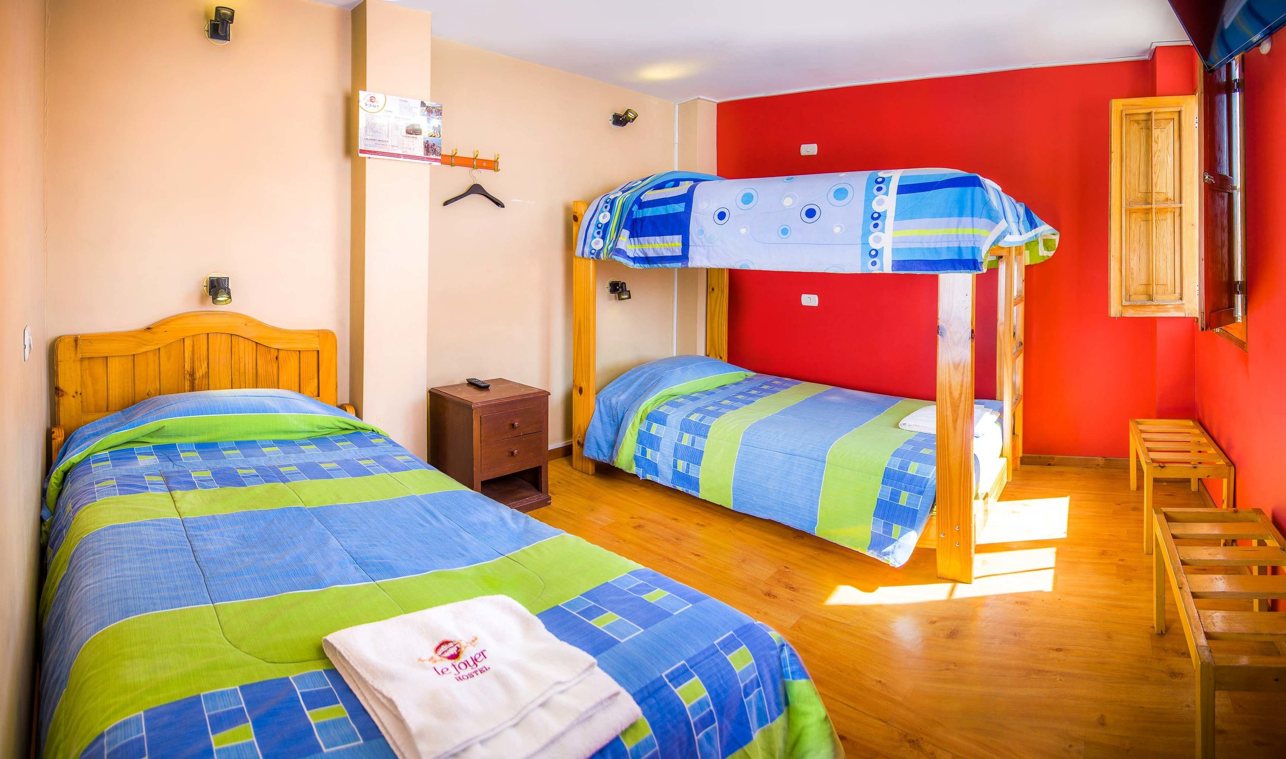 Triple Room   at Le Foyer Hostel   Book With Us