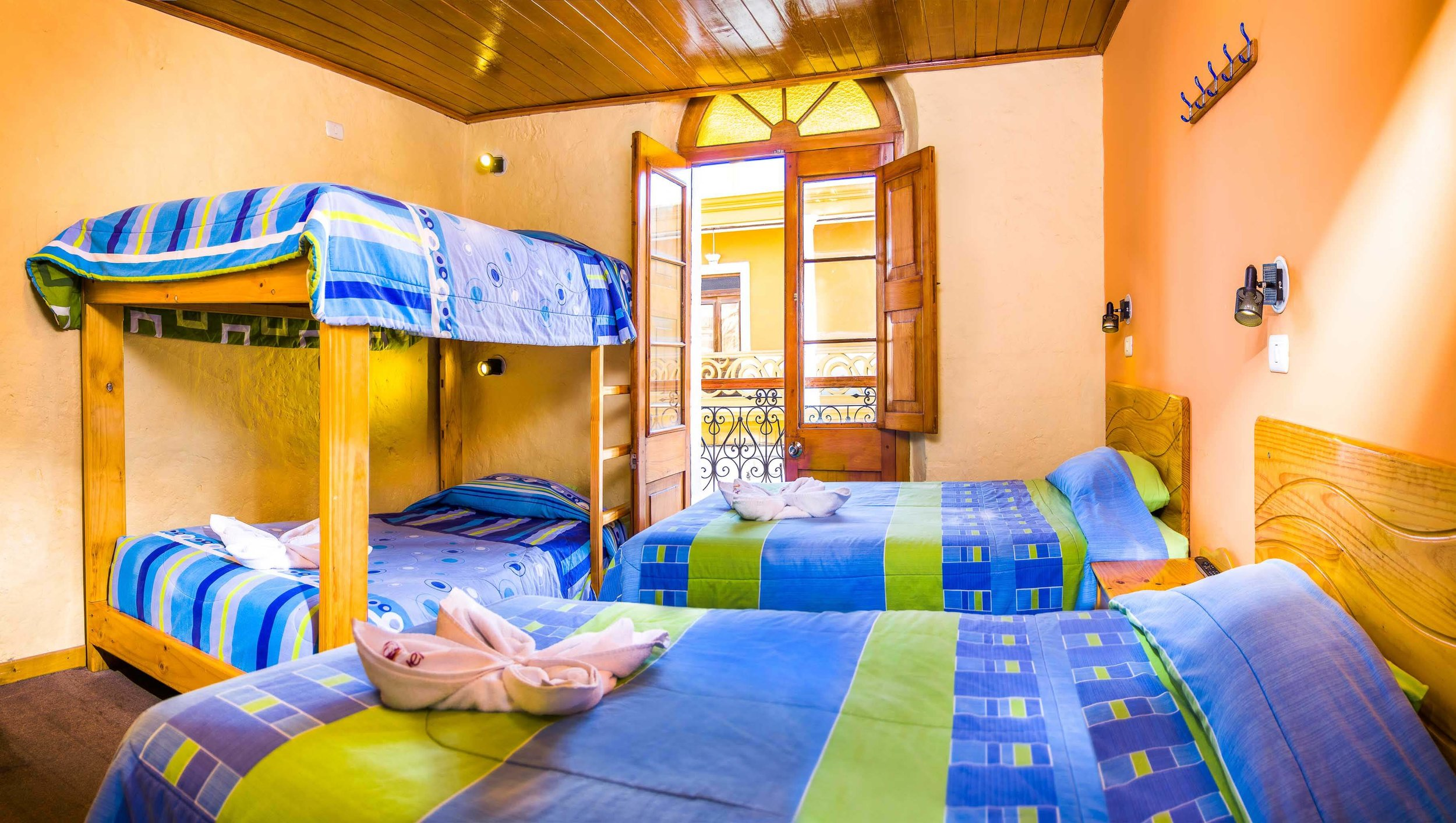 Quadruple Room   at Le Foyer Hostel   Book with Us