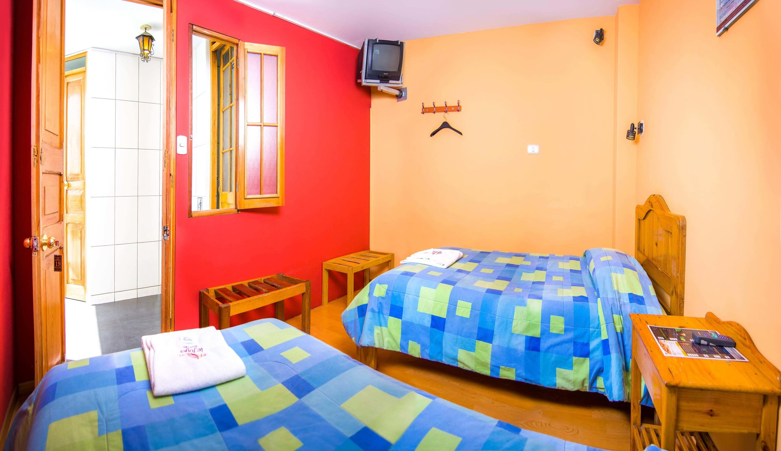 Twin Room shared Bathroom   at Le Foyer Hostel   Book With Us