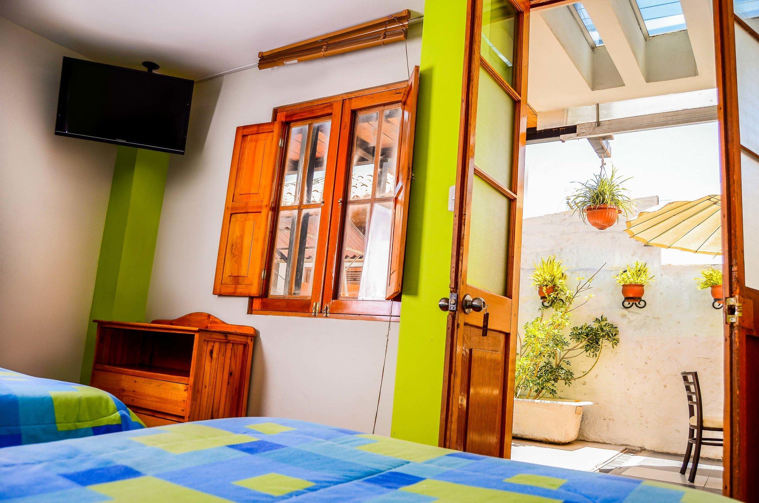 Habitaciones - Nuestras Cómodas Habitaciones