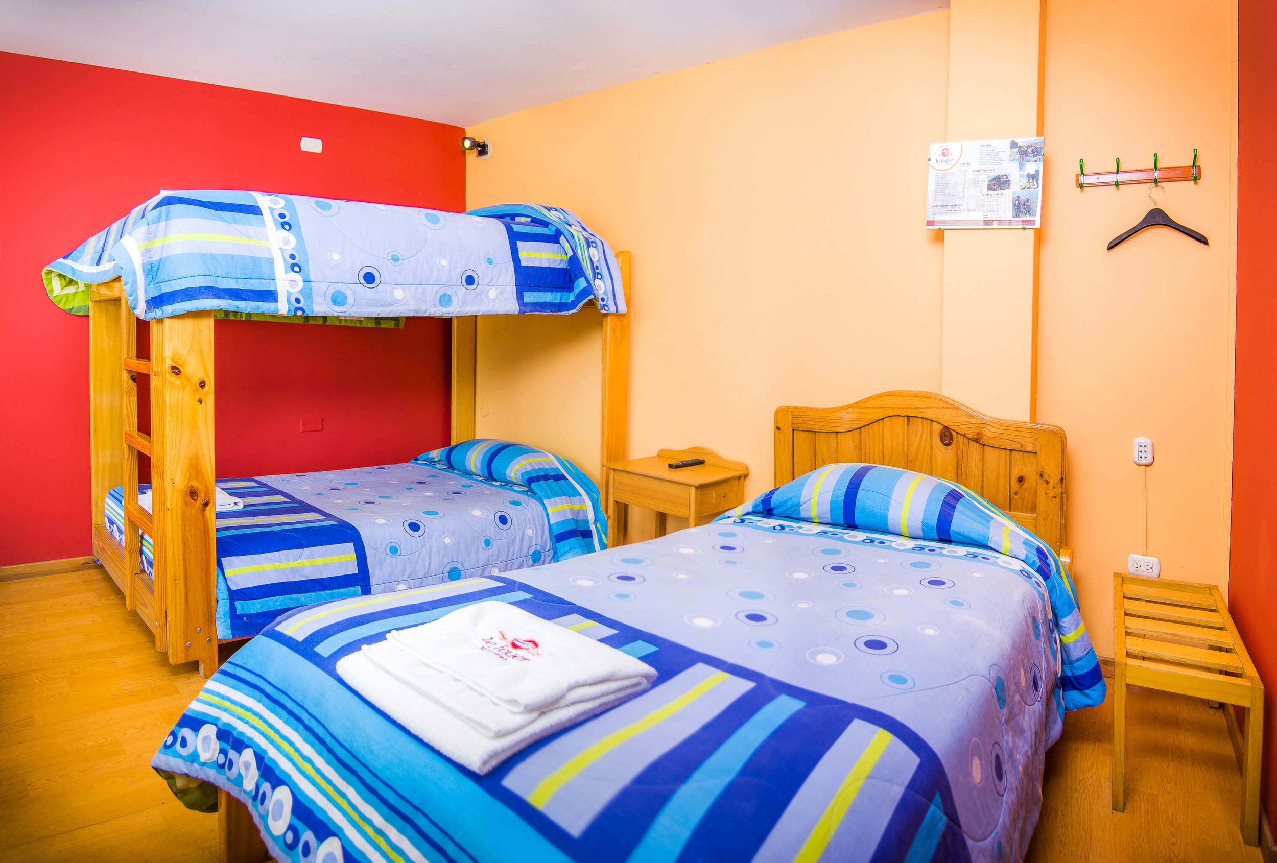 Habitación Triple   en Le Foyer Hostel   Reserva con Nosotros