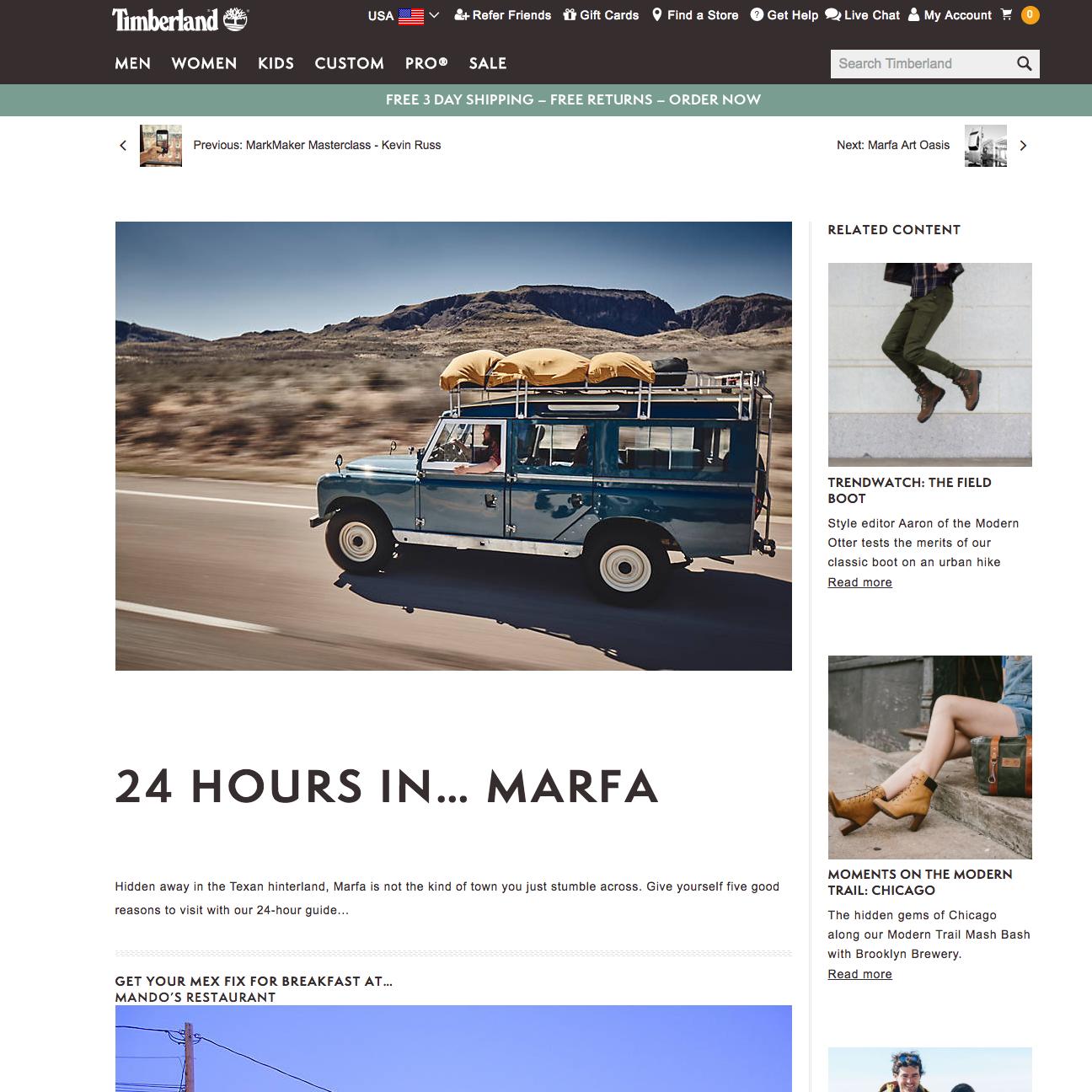 24 Hours in… Marfa