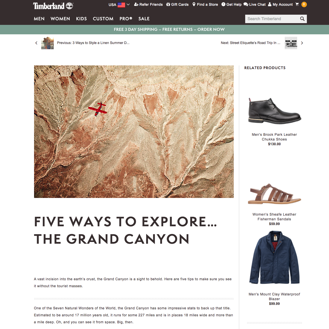 Five Ways to Explore the… Grand Canyon