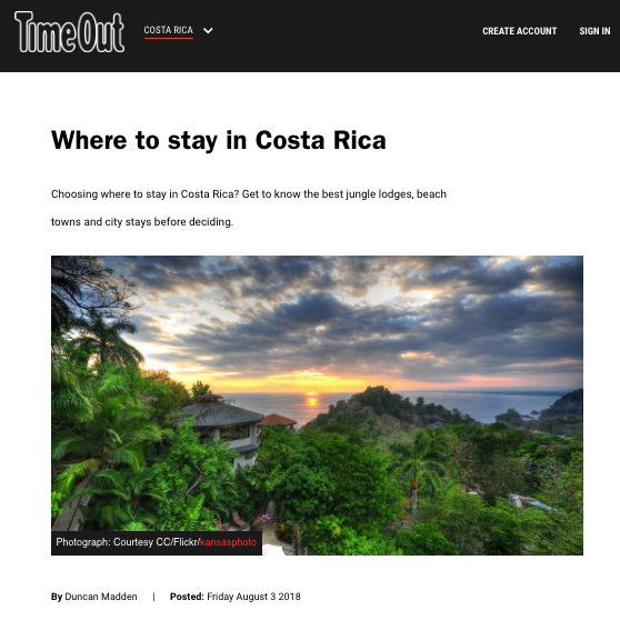 Where to stay in Costa Rica | Time Out