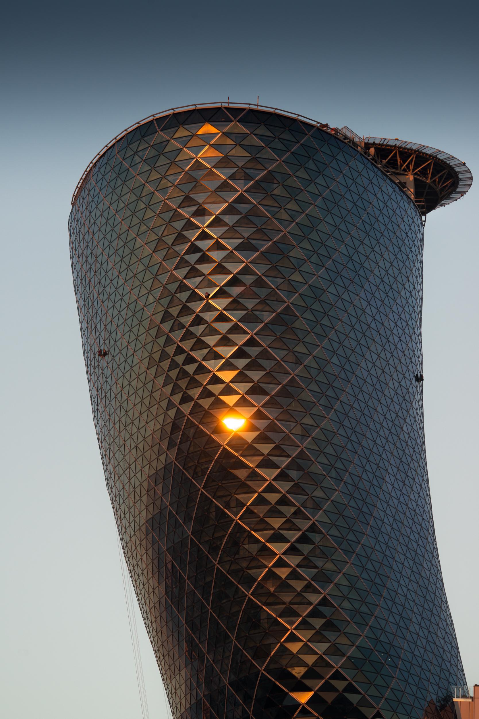 Capital Gate, Abu Dhabi : RMJM Architects