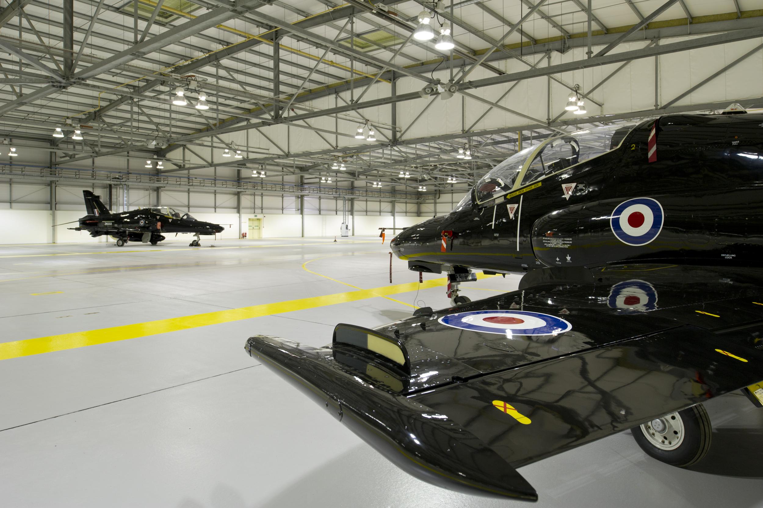 RAF Valley Aircraft Hanger