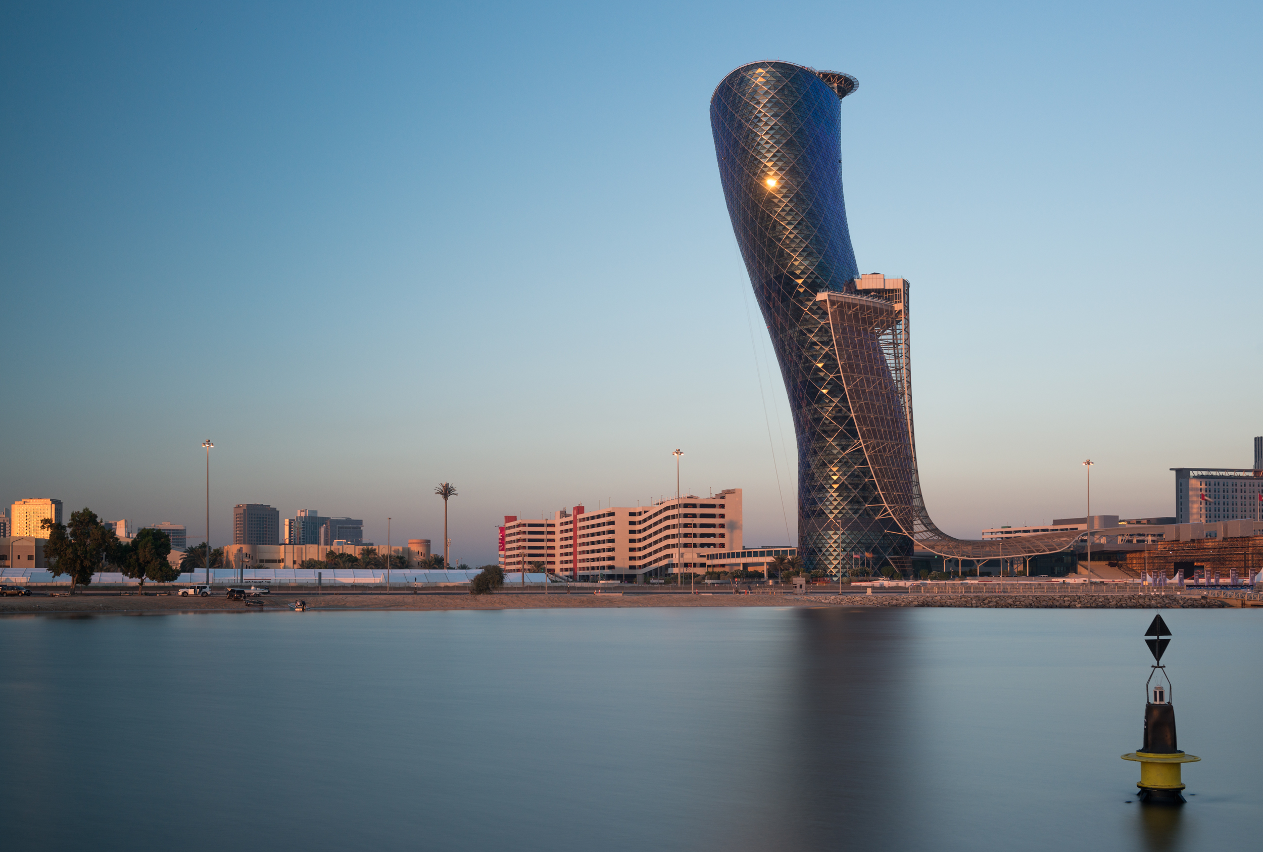 Capital Gate, Abu Dhabi  Architects : RMJM