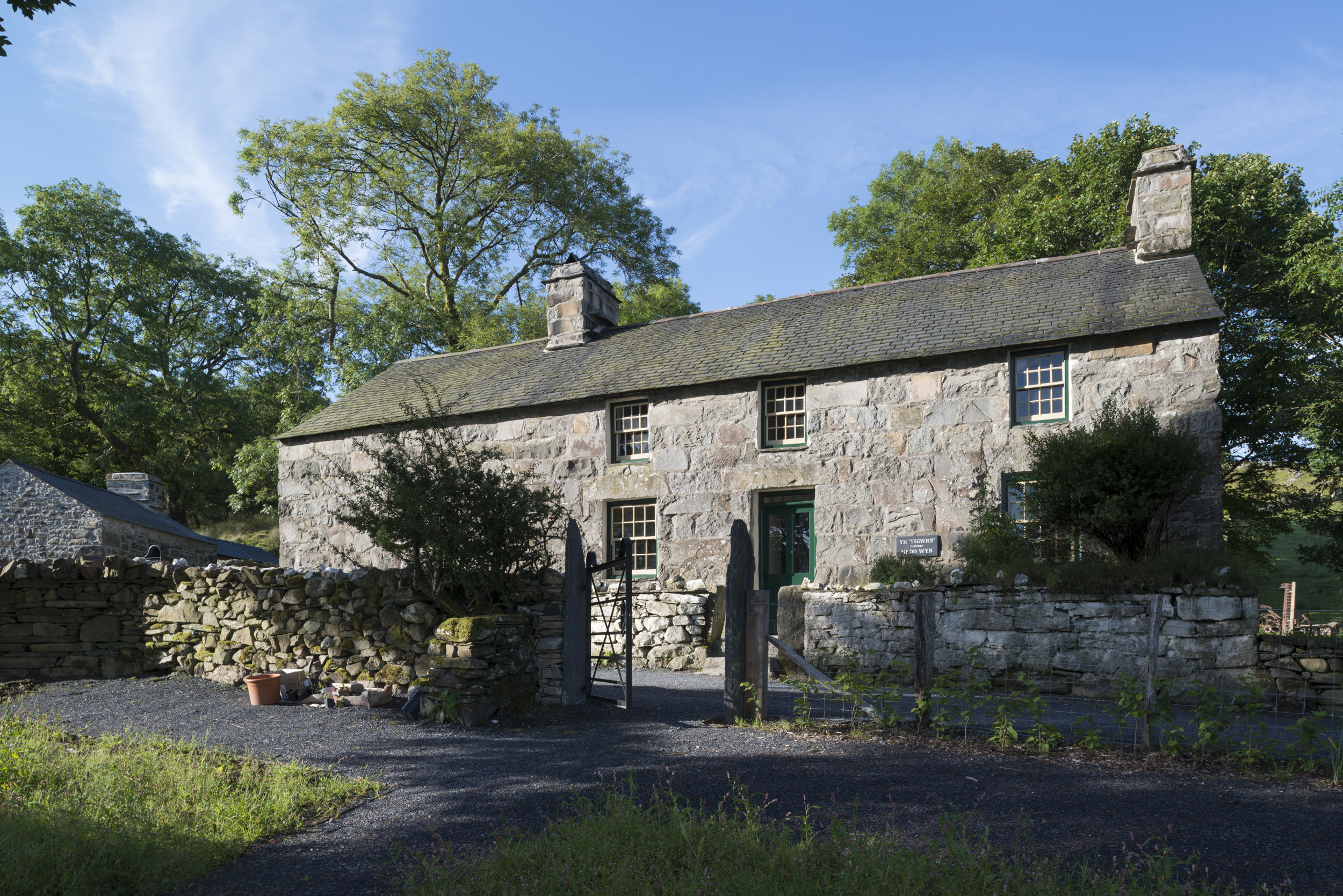 Yr Ysgwrn was the farmstead of the Evans family