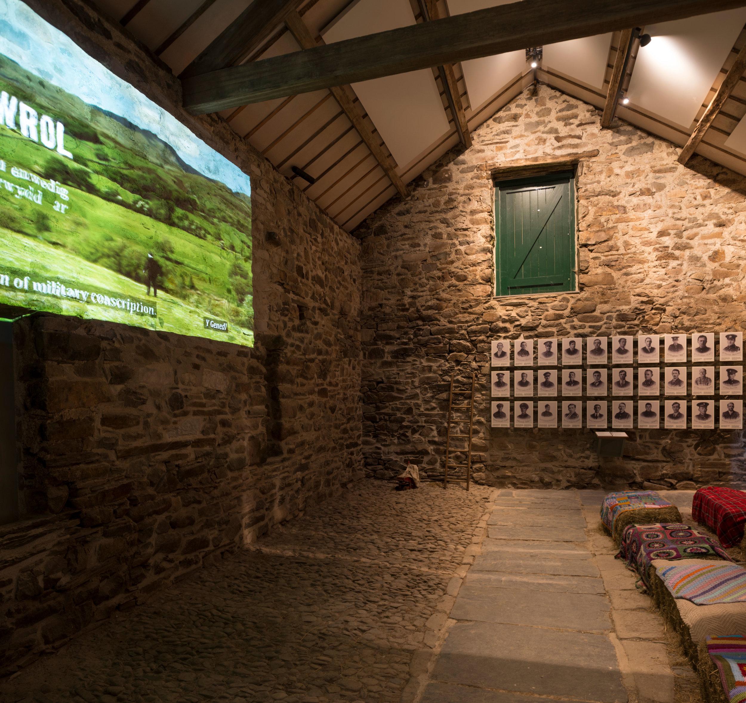 Yr Ysgwrn - Home of Hedd Wyn.  Purcell Architects