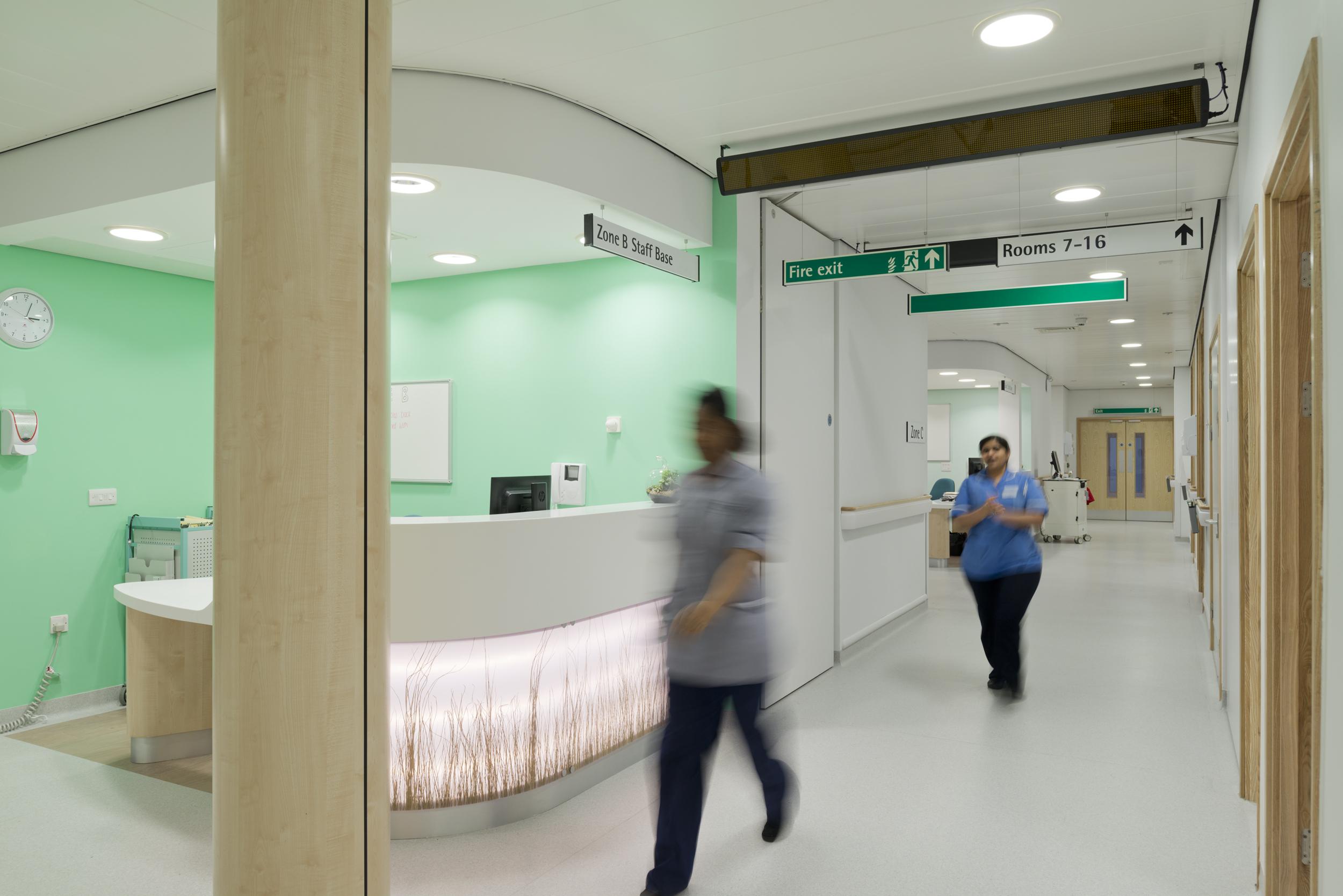 OAK Ward. Liverpool Broadgreen Heart and Chest Hospital
