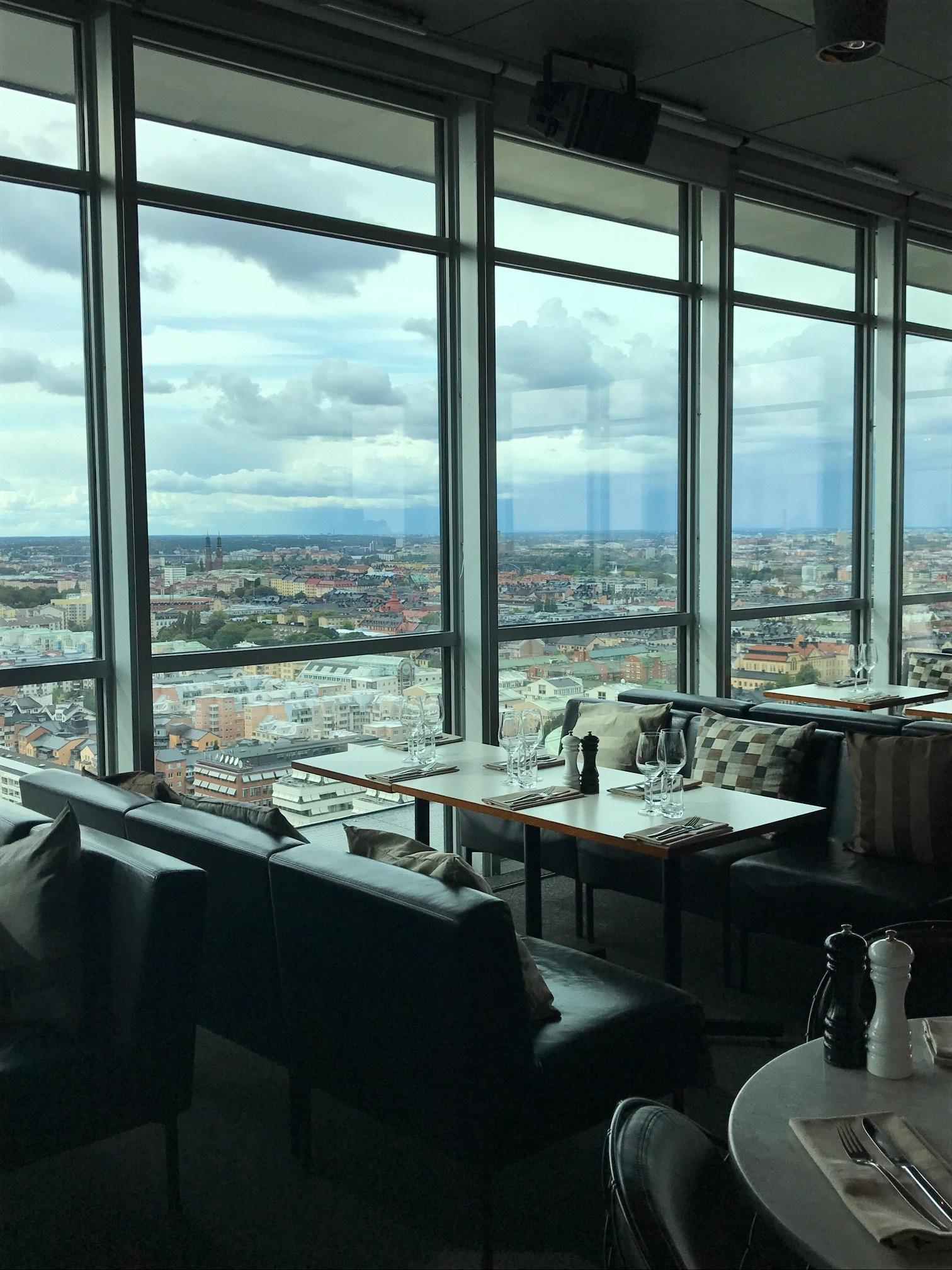 Views from Himlen Restaurant