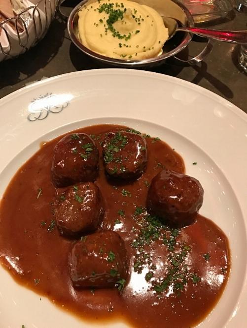 Swedish Meatballs at Riche