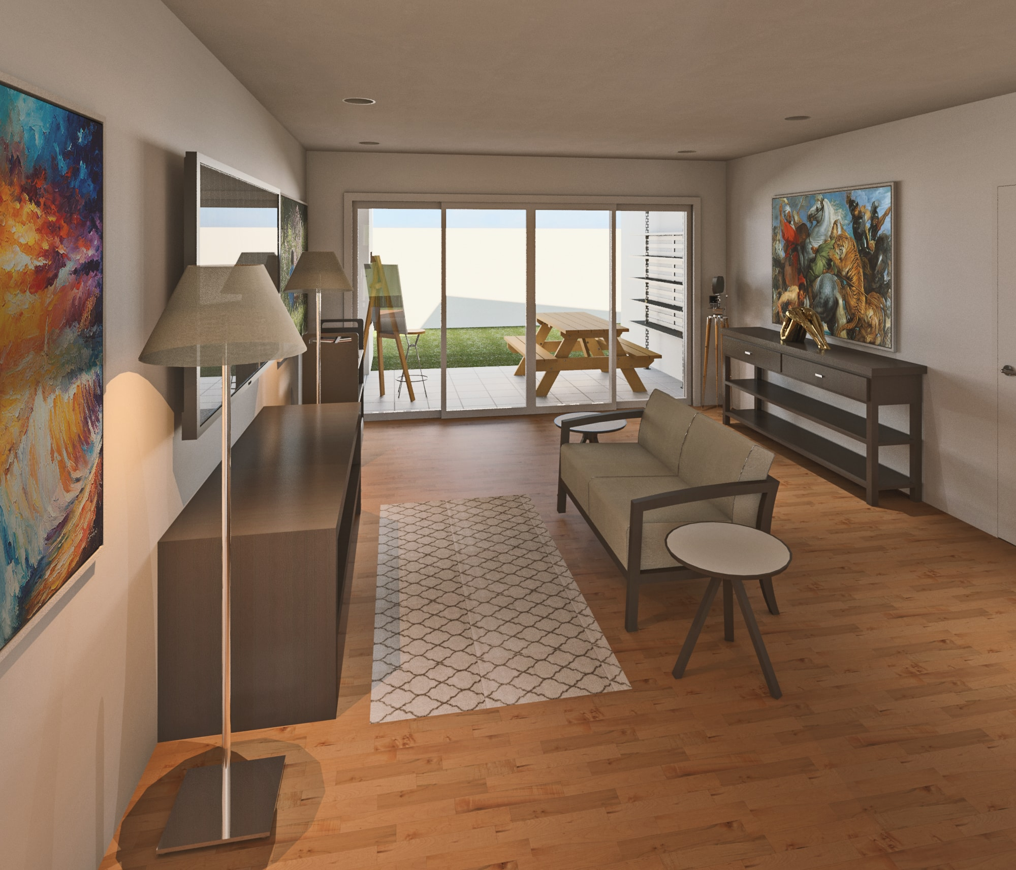 Type A (2 Bedrooms) - Click To View