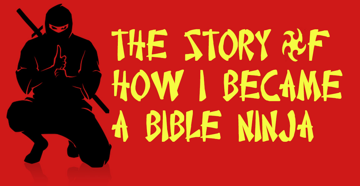 Calling all Ninjas - This series aims to train us all to be fully proficient in the bible. Join us as we go through basic training, real world training, levelling up, and a maintenence program. Wax on, wax off!