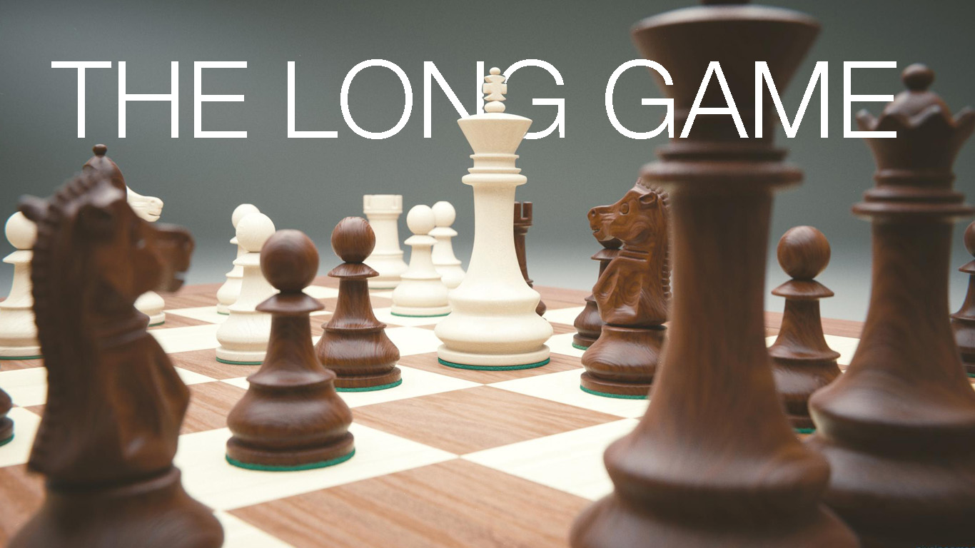 The Long Game - God is the grand master of all creation
