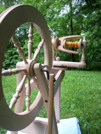 My Wheel. An Ashford Traditional.