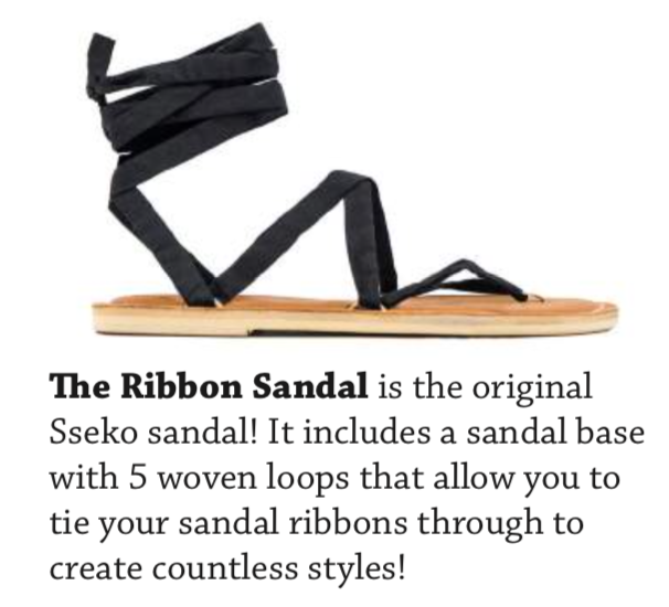 Custom Ribbon Sandals - AVAILABLE IN SIZES 5-12STANDARD PRICE STARTING AT $59.99