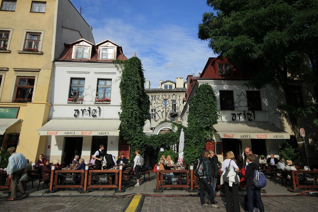 KAZIMIERZ: Denne bydelen finner du kun en spasertur unna sentrum. Foto: Foto Polska