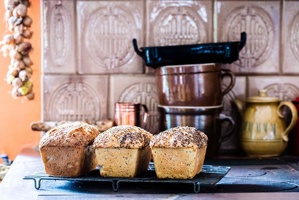 KASJUBISKE BRØD: Her er brødene vi fikk lære å lage! Foto: Łukasz StafiejPolska Statens Turistbyrå
