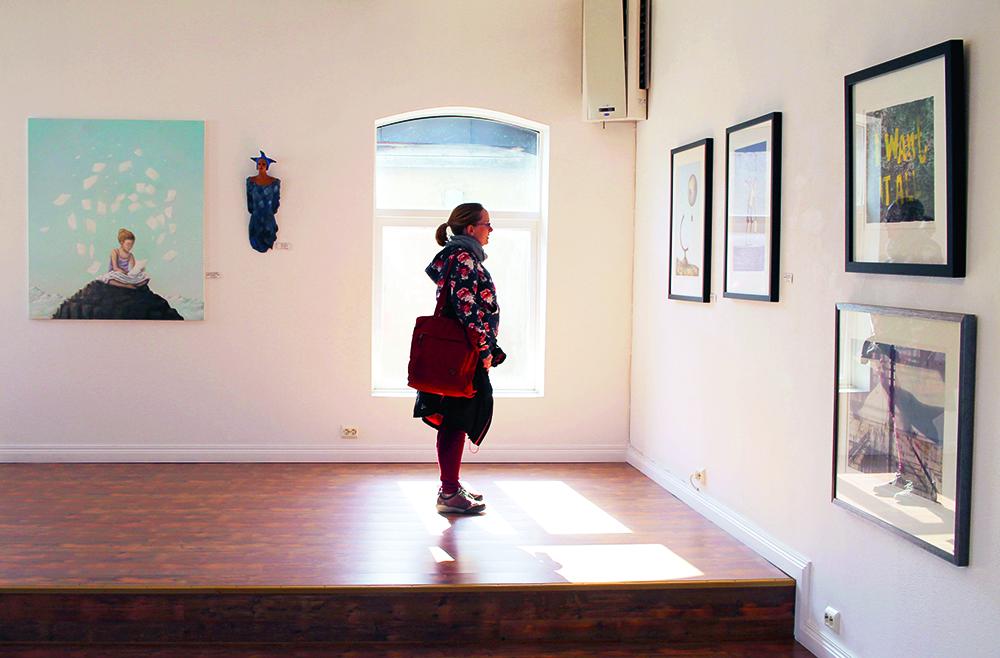 GALLERI FENKA: Jeg besøkte dette fine galleriet sammen med  Kathrine fra Gluten- og Melkefri Inspirasjon  - superhyggelig dag! Foto: Tenk Koffert