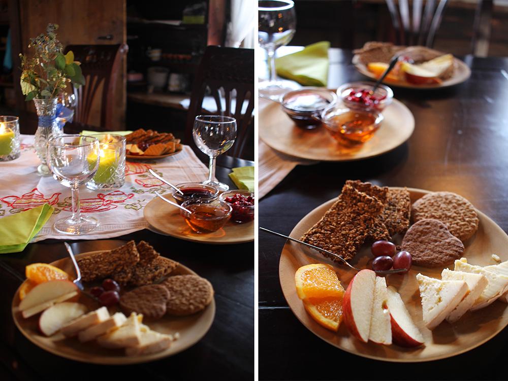 MUNKEBYSNACKS: Prøv Munkeby-ost og -øl når du besøker herberget Foto: Tenk Koffert