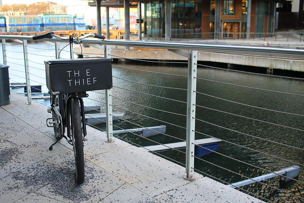THE THIEF: Hotellet ligger fint til på Tjuvholmen, rett ved Aker Brygge i Oslo. Foto: Tenk Koffert