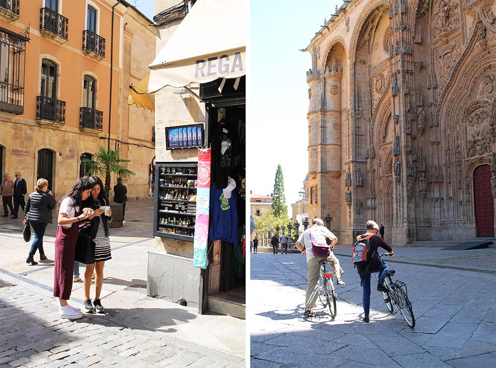 UTFORSK BYEN: Salamanca er en fin by å sykle eller rusle rundt i. Lei sykkel hos  Bikecicletas , eller spør om hotellet du bor på ha til utlån. Foto: Tenk Koffert