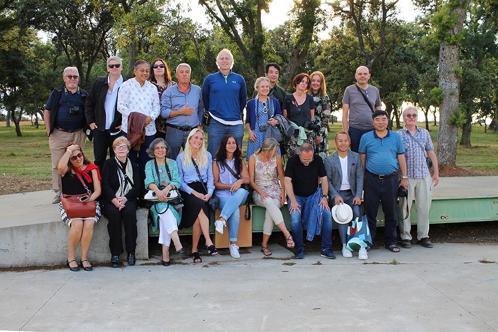 REISEJOURNALISTER OG -BLOGGERE: Da jeg besøkte regionen Castilla y Leon reiste jeg sammen med en rekke journalister og bloggere fra hele verden. En helt fantastisk reise med mange hyggelige og spennende folk. Foto: Tenk Koffert