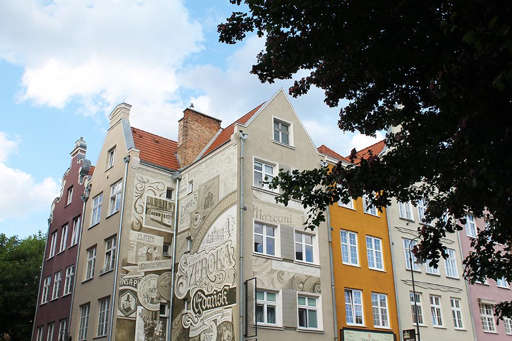 GDANSK: Det er enklest å komme seg til lavendelgården via Gdansk. Foto: Tenk Koffert