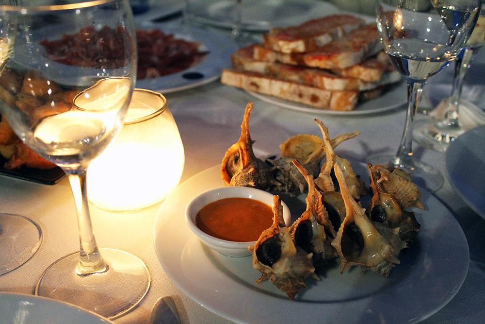 CAÑOTA: Spennende og skikkelig god mat på denne restauranten i Barcelona. Foto: Tenk Koffert