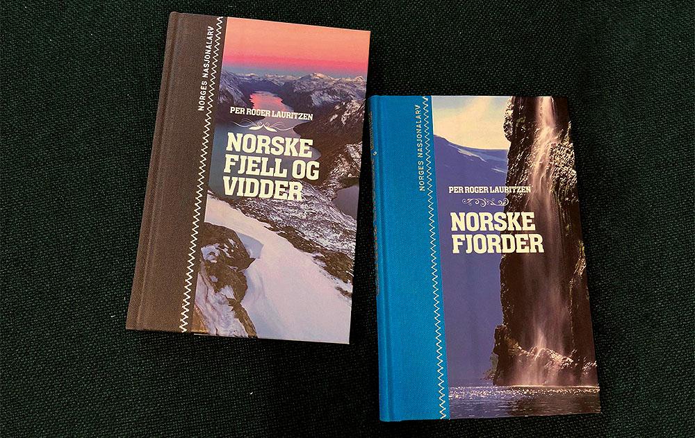 VINN BOKPAKKE: Denne flotte bokpakka fra Font forlag kan bli din - og du får en pakke til som du kan gi til en annen lese- og reiseglad venn.