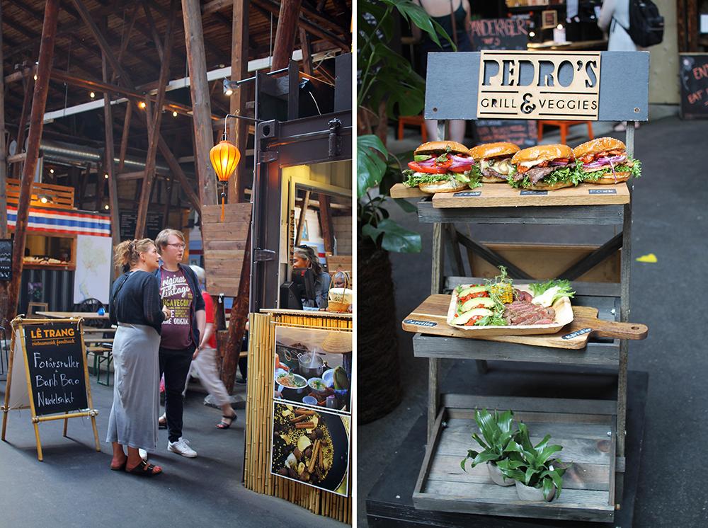 JUNI: Strett food-marked i Odense! Foto: Tenk Koffert