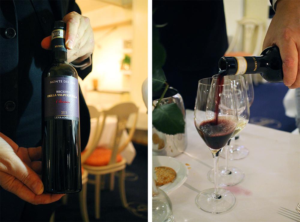 VINPAKKE: Vi koste oss med god mat og vin på kvelden. Foto: Tenk Koffert