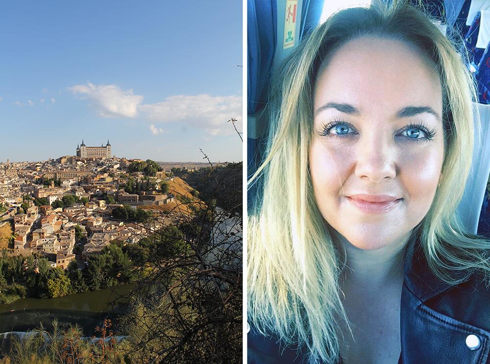TENK KOFFERT I TOLEDO: Jeg elsker å reise i Spania, spesielt i vakre middelalderbyer, sånn som Toledo. Foto: Tenk Koffert