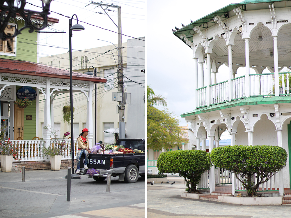 DOWNTOWN SANTO DOMINGO: Fine, fargerike hus og bygninger i kolonistil. Foto: Tenk Koffert