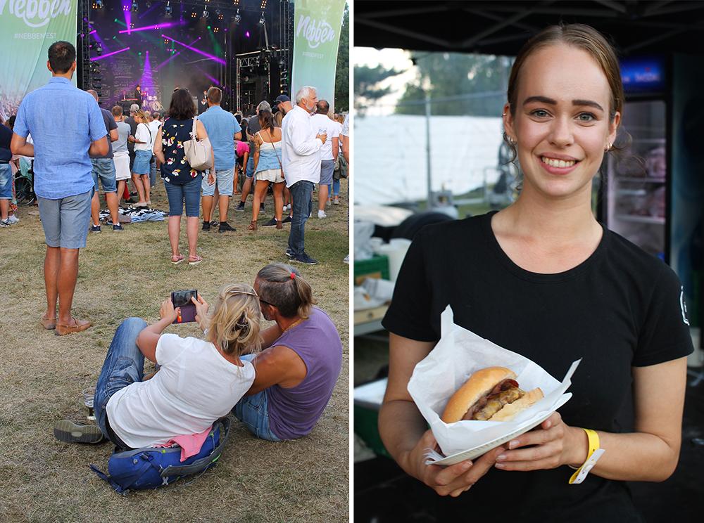 NEBBENFEST: Festivalen kan skilte med både god musikk og deilig mat. Foto: Tenk Koffert