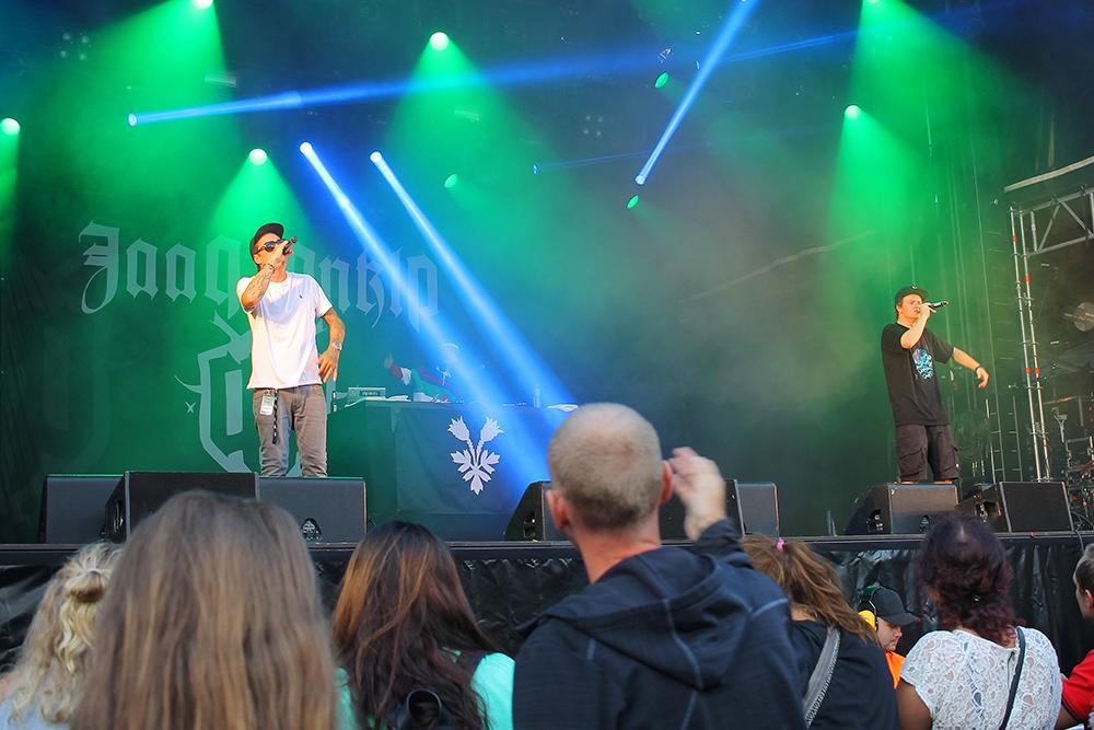 NEBBENFESTIVALEN: Jaa9 & OnklP på scenen på fjorårets Nebbenfest. Foto: Tenk Koffert