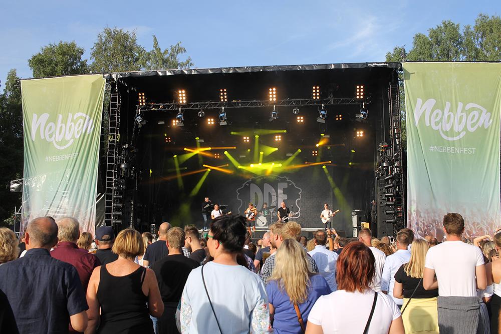 DDE: DDE var et av høydepunktene for mange av gjestene på Nebbenfestivalen i fjor. Foto: Tenk Koffert