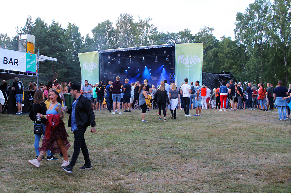 NEBBENFESTIVALEN: Musikkfestivalen arrangeres hvert år på Nebben i Lillestrøm. Foto: Tenk Koffert