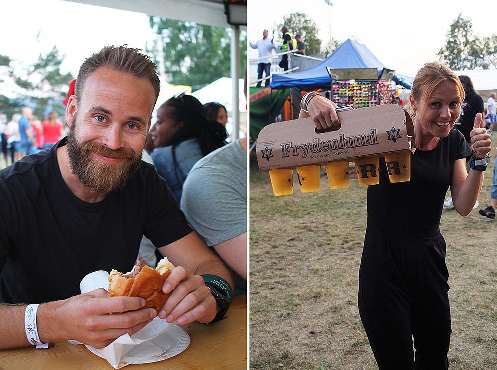 NEBBENFEST: Uten mat og drikke, osv … Foto: Tenk Koffert