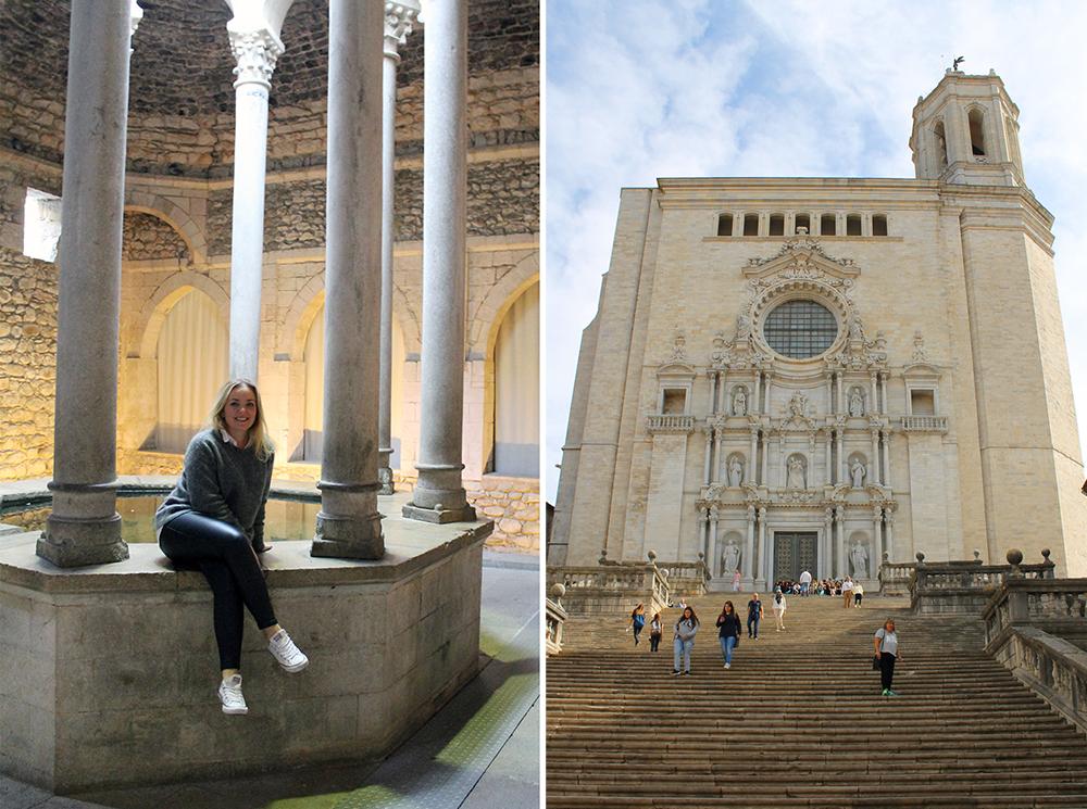 TENK KOFFERT I SPANIA: Her er jeg på storbyweekend i Girona. Foto: Tenk Koffert
