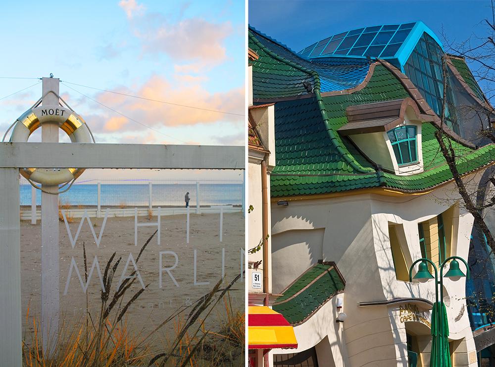SOPOT: Enten du foretrekker å være på stranden, se på all den spennende arkitekturen som er her eller du vil teste ut spisestedene eller spaene, så kommer du ikke til å kjede deg her. Foto: Reisebloggen Tenk Koffert