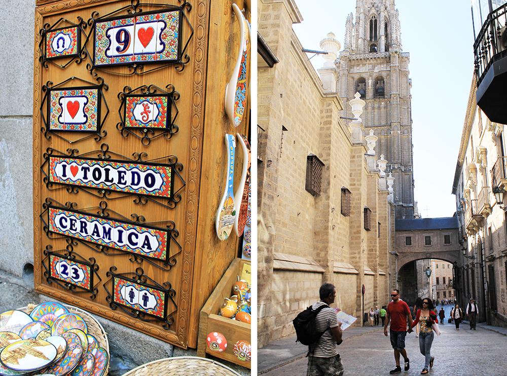 TOLEDO: Det er mange turister og turistsjapper i Toledo, men det er jo fordi det er en by som virkelig er verdt å se. Foto: Tenk Koffert