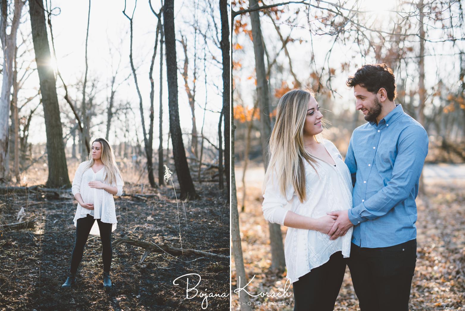 boho inspired pregnancy photos