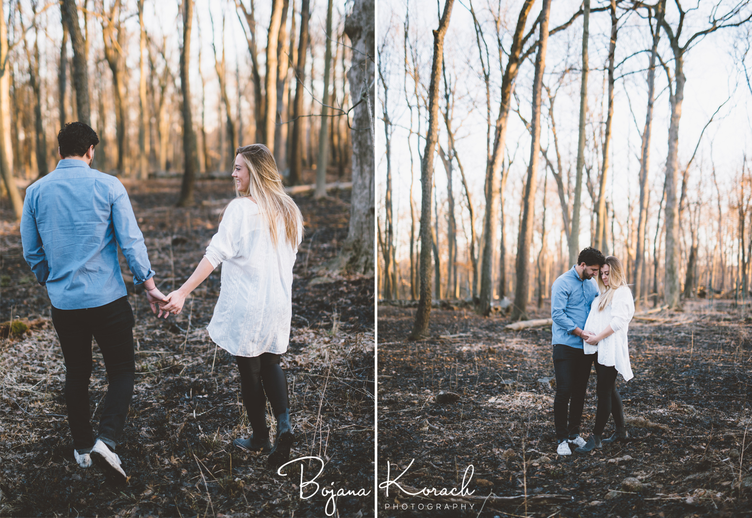 forest maternity photos in chicago